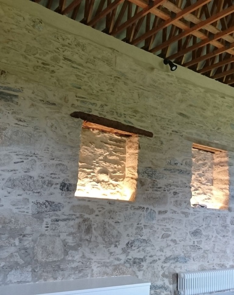 3 barn conversion venue space wall recesses Large
