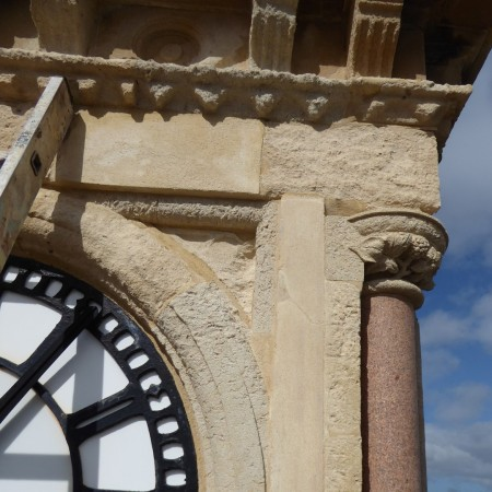 Jubilee clock tower conservation maintenance clock Large